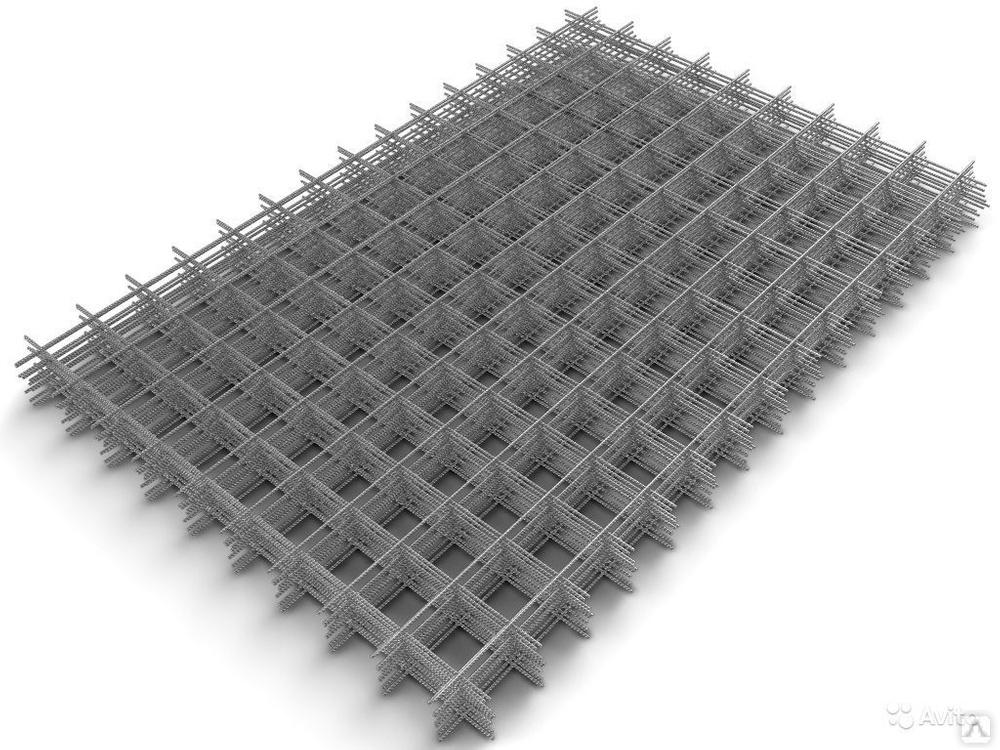 Сетка кладочная Ф4 (1000х2000) ячейка 100х100мм
