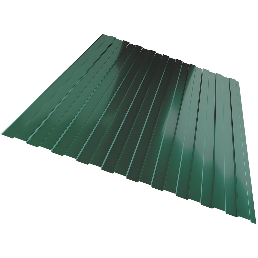 Профлист С8  0,35  1,2х1,5м Зеленый