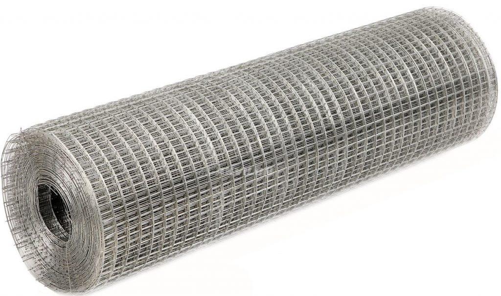 Сетка сварная ячейка 25х25х1,4 оцинк. (1,0х50м)