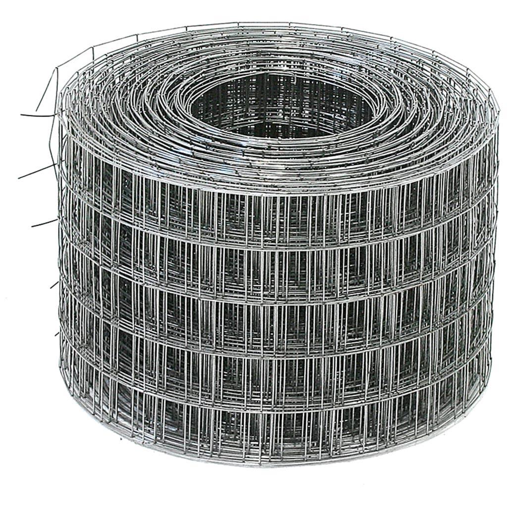 Сетка сварная ячейка 50х50х1,4 неоцинк. (0,35х50м)