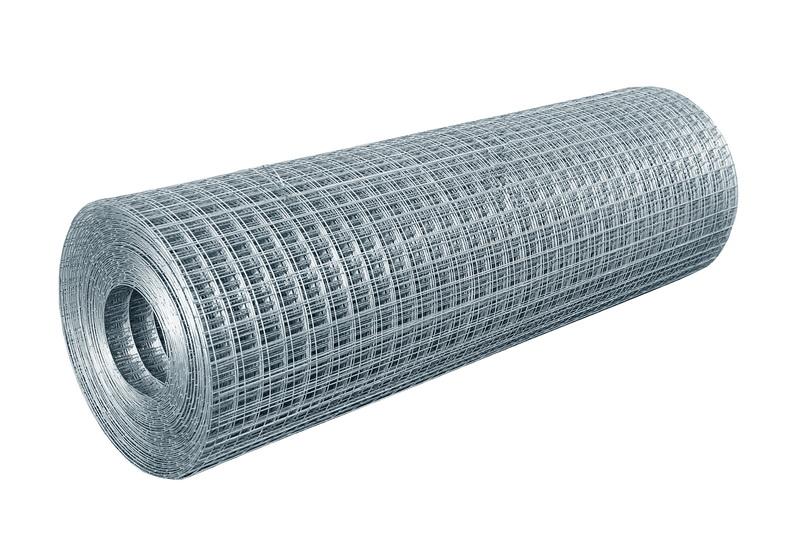 Сетка сварная ячейка 50х50х1,4 неоцинк. (0,5х50м)